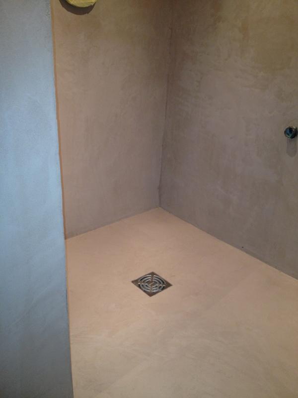 B ton d coratif salle de bains b ton cir d coratif paris - Beton cire decoratif ...
