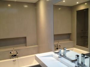 Spécialiste béton ciré salles de bain paris